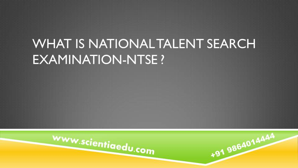 National Talent Search Examination 2