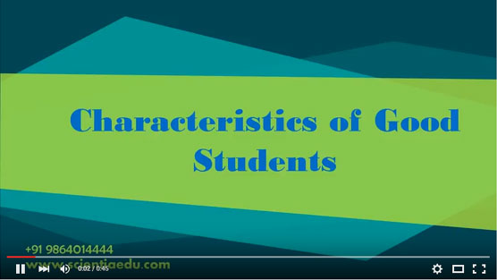 Characteristics Of Good Students