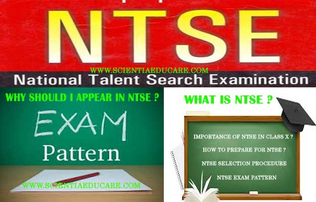 What Is National Talent Search Examination-NTSE ?