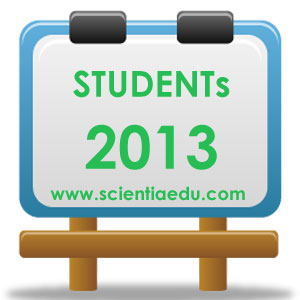 Students Scientia Education 2013