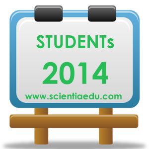 Students Scientia Education 2014