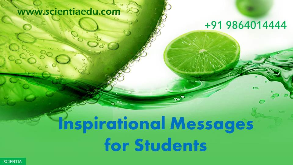 Inspirational Messages For Students