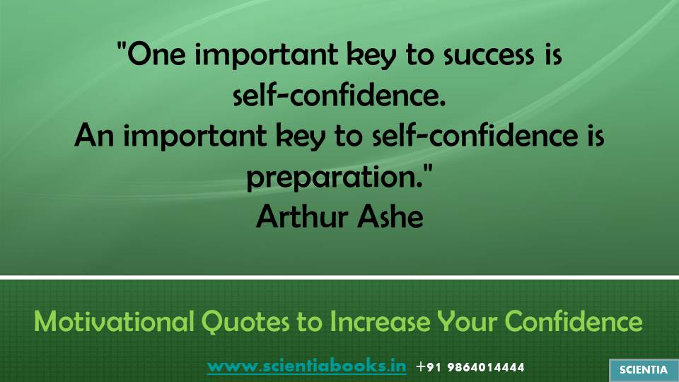 how to develop your confidence