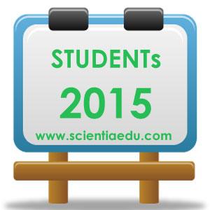 Students Scientia Education 2015