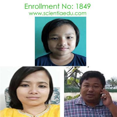 Enrollment No: 1849