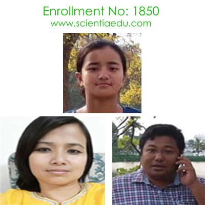 Enrollment No: 1850