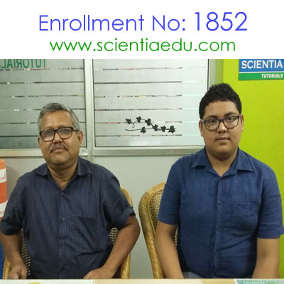 Enrollment No: 1852