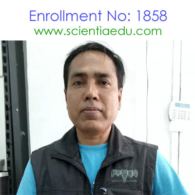 Enrollment No: 1858